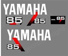 YAMAHA 1991-1999 - 85 moteur hors bord autocollant décalque kit moteur