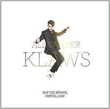 ALEXANDER KLAWS - AUF DIE BÜHNE,FERTIG,LOS!  CD NEU