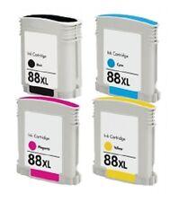 4x Ink for HP Officejet Pro L7480 L7580 L7590 L7690 L7780 / no. 88XL Cartridge