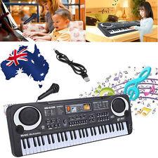 Kids 61 Key Digital Electronic Keyboard & Microphone Electric Piano Organ Gift