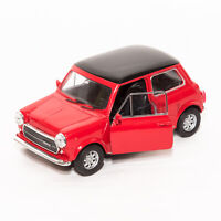 Mini Cooper 1300 Red, Welly scale 1:34-39, model toy car gift