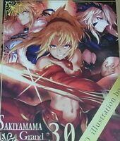 Sakiyamama Fate Fgo Color Ventilador Arte Libro Grand Orden 3.0 Conejito Disfraz