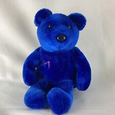 "Salvino's Big Bammers Sammy Sosa Teddy Bear #21 Blue 13"" Plush Stuffed Animal"