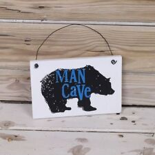 Patternless Novelty Man Cave Decorative Plaques & Signs