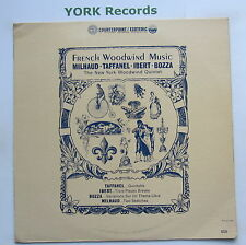 CPT-505 - FRENCH WOODWIND MUSIC - Milhaud / Taffanel / Ibert - Ex Con LP Record