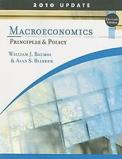 Macroeconomics: Principles and Policy, Update 2010 Edition-ExLibrary