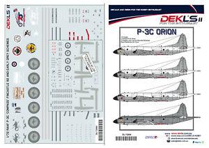 1/72 P3C Orion - RAAF 'Compass' and Fincastle Schemes