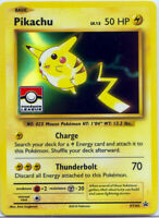 Pikachu xy202 Holo Pokemon League Black Star Promo NM