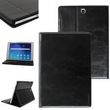 """Luxus Leder Cover für Samsung Galaxy Tab A 9,7"""" Schutzhülle Case Tasche schwarz"""