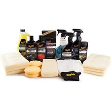 Car Care Gift Pack Meguiar's Complete Auto Exterior Interior Detailing Wax Kit