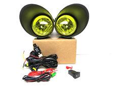 07-12~Tundra~Fog~Light~Lamp~Amber~Yellow~Kit~Wires~Switch~Bezel~Housing~