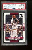 2014 Panini Donruss #170 Lebron James Cavaliers PSA 10 GEM MINT