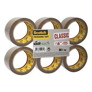 3M Scotch 371 Polypropylene Tape Buff 75mm X 66m Pack 24
