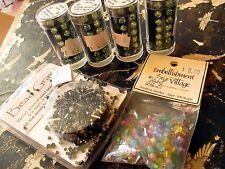 MIXED LOT 6 pcs Gutermann 5mm crystal 600210 Beads BEAD GRAVY Rainbow Sherbet