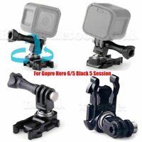 BallJointBuckle 360° Base Mount Adapter For All Gopro Hero 5 4 3+ 3 2 1 Camera