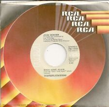 JOHN DENVER 45  Back Home Again / It's Up To You - NM