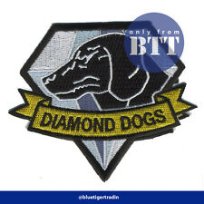 "Metal Gear Solid Fox Hound /Foxhound Diamond Dogs Embroidered Patch 4"" (Width)"