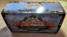 More details for magic the gathering deck builder's toolkit + duel deck mostly sealed 300+ cards!