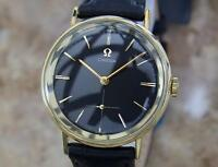 Omega 1960s Calibre 510 Swiss Made 14k Gold Filled Men's Manual Dress Watch QFR6