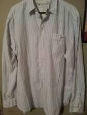 Wrangler X-Large Long Sleeved Button Down Striped Men's Shirt