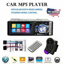 NEW 4.1 HD Single 1DIN Car Stereo Video MP5 Player Bluetooth FM Radio AUX USB TF