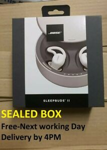 Bose Sleepbuds II Wireless Headphones White FREE FAST DELIVERY NEXT-WORKING DAY