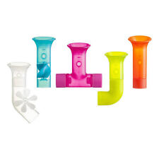 Boon Pipes Water Pipes Building Bath Toy 5 Pipes BPA-Free Plastic Brand NEW