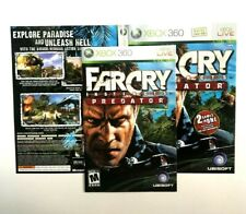(MANUAL AND ARTWORK ONLY) (NO GAME) XBOX 360 - Far Cry Instincts Predator