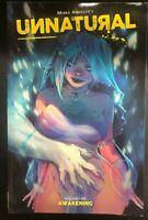 UNNATURAL volume 1 Awakening  (2019) Image Comics Trade Paperback VG+/FINE-