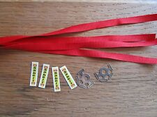 Pocher 1/8 Ferrari F40 Porsche Sabelt Seatbelt Harness Upgrade Kit Details (Pair