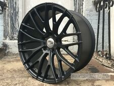 "19"" MATTE BLACK MESH STYLE STAGGER WHEELS RIMS FITS LEXUS IS IS300 IS250 IS350"