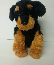 "9"" Ty Brutus Rottweiler Puppy Dog 2007 No Tag Stuffed Plush Animal"
