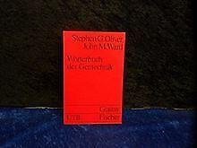 Wörterbuch der Gentechnik. von Oliver Stephen G. und Joh... | Buch | Zustand gut