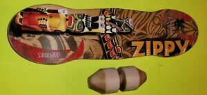Vew-Do Flow Balance Board Surf And Skate Training Board ZIPPY Board AND Roller