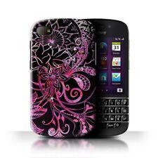 Étuis, housses et coques noirs BlackBerry Q10 pour téléphone mobile et assistant personnel (PDA) Blackberry