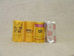 Kodak Fujicolor roll film 120 print slide 4 pcs expired lomography