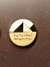 "The Police Promo 1980 1.25 "" Pinback Pin Button ""Zenyatta Mondatta"" - Sting -"