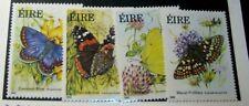 Ireland Stamp Scott# 612-615 Butterflies 1985  MNH  H57