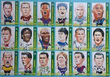 EUROPEAN EMBOSSED Promatch Series 4 Complete 18 Card Set Zidane Kluivert Baggio