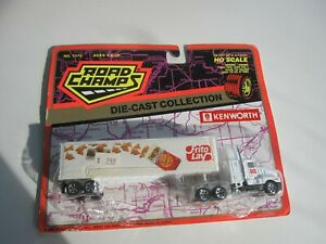1994 Road Champs HO Scale Die Cast Collection FRITO LAY KENWORTH Semi MOC BIS