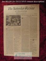SATURDAY REVIEW December 31 1932 James T. Shotwell Frank Lloyd Wright Lola Ridge
