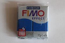 Fimo Modelliermasse FIMO® soft, Effekt Glitter blau
