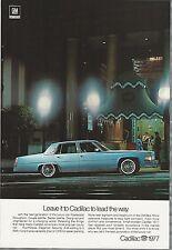1977 CADILLAC Fleetwood advertisement, Cadillac FLEETWOOD Brougham ad