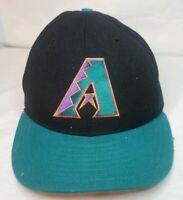 Vintage New Era Pro Model Arizona Diamondbacks Fitted Hat 7 1/8 - 100% Wool