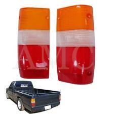 87-94 Mitsubishi Triton Tail Light Rear Lamp Lens Ram50 D50 Me Ute Pickup Pair