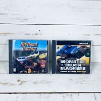 SODA Off-Road Racing & Monster Truck Madness PC CD-ROM Video Game Bundle Lot