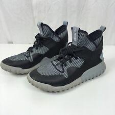 big sale 90a2a bec1f Adidas Originals Mens Tubular X Primeknit Sneakers Shoes Carbon Grey AF6368  Sz 9