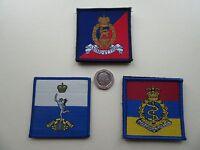 Royal Signals, RAMC & AGC vlcro backed Osprey / UBACS morale patches.