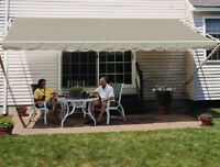 SunSetter Manual Retractable Awning,11 x 9 ft. 900XT Model - Deck & Patio Shade