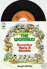 THE WOMBLES Remember You're A Womble 45/GER/PIC